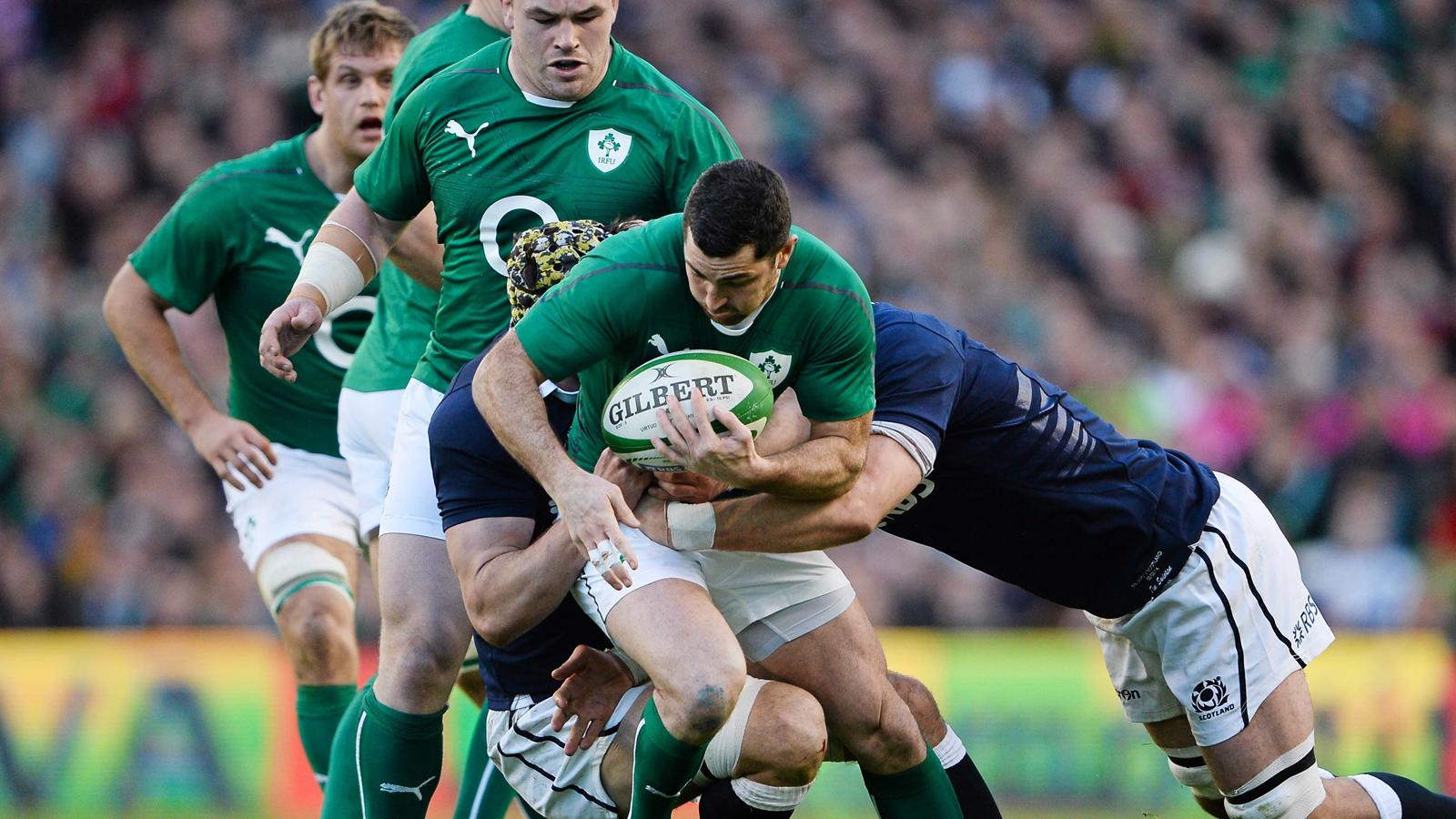 Tournoi des 6 nations 2014 irlande ecosse 28 6 l 39 irlande sa juste main 6 nations 2014 - Rugby coupe des 6 nations ...