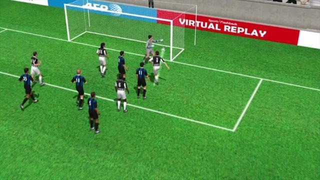3D: Giorgio Chiellini's goal v Inter