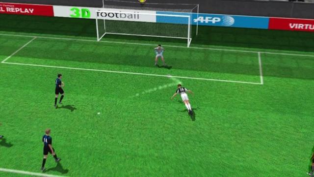 3D highlights: Juventus v Internazionale