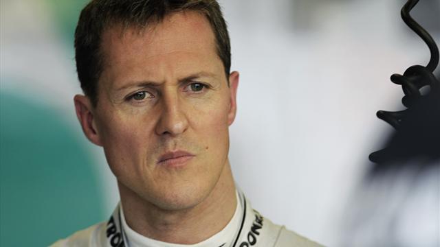 """Schumacher """"montre des moments de conscience et d'éveil"""""""