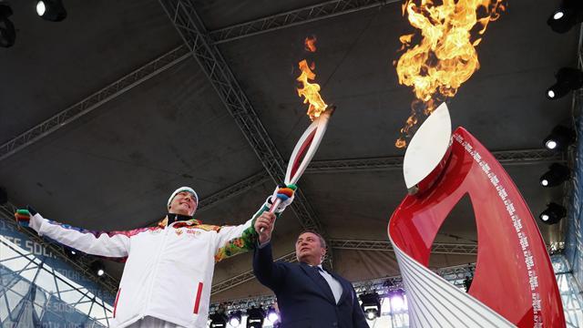 В Сочи завершилась эстафета олимпийского огня