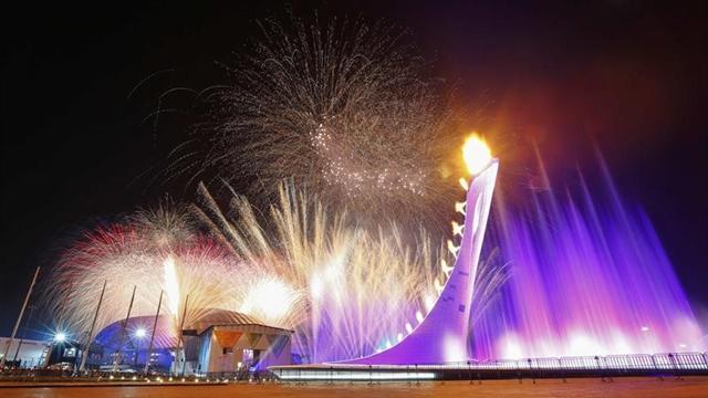 GALERİ: Ve Olimpiyat meşalesi yandı!