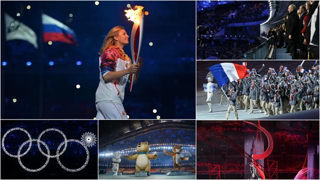 Sharapova, Poutine, URSS, Irina Shayk : Les 10 temps forts de la cérémonie d'ouverture