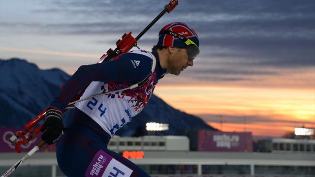 Björndalen bir kez daha tarihe geçti