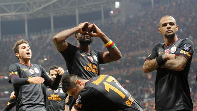 Galatasaray-Eskişehirspor: 3-0/ MAÇ ÖZETİ