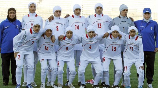 İran Kadın Milli Takımı'nda skandal olay!