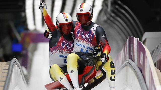 Altın madalya Alman ikilinin