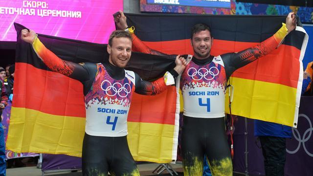 Вендль и Арльт укрепили лидерство Германии в медальном зачете