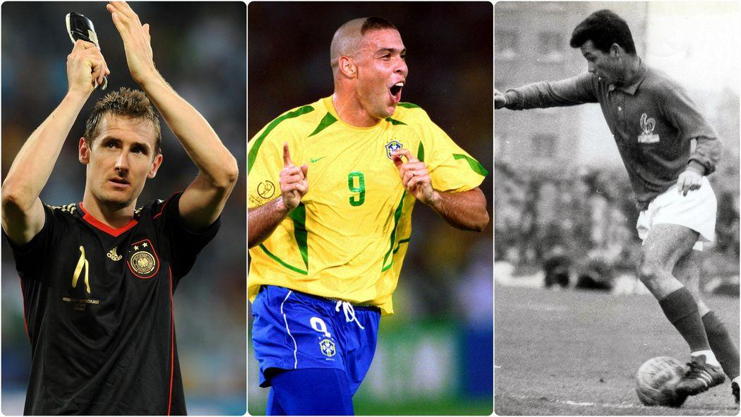 Les  Meilleurs Buteurs De Lhistoire De La Coupe Du Monde Coupe Du Monde  Football Eurosport