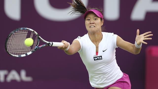 Li, Radwanska lead seeds through in Doha