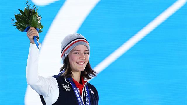 La femme est l'avenir des moissons de médailles françaises