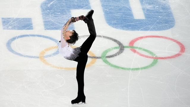 Bbc Sport Sochi 2014 Yuzuru Hanyu Wins Figure Skating