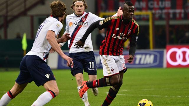 D'un but d'extraterrestre, Balotelli réveille Milan