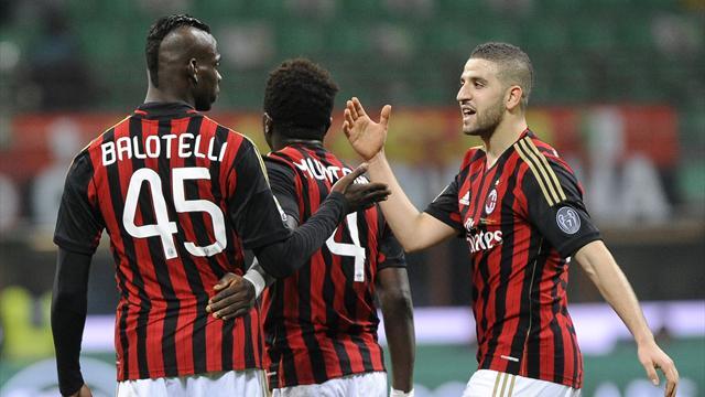 Foto Mario Balotelli (Milan): risultera' a segnare gol oggi?
