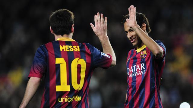 Si le Barça va en finale, ce pourrait être sans Messi et Neymar… entre autres
