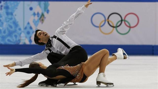Alisa-Alper çifti buz dansında ilk turu geçemedi