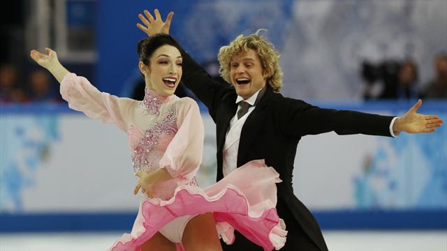 Buz dansına ABD damgası