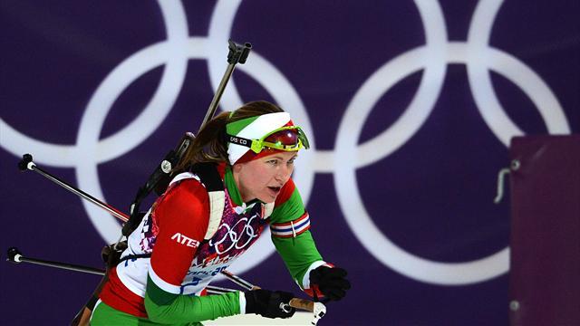 Domracheva écrit l'histoire olympique