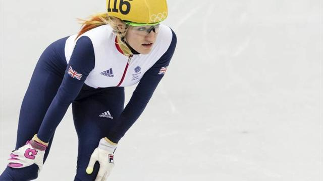 Elise Christie in the mix after opening heats in Shanghai