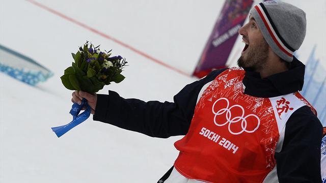 """""""Pas de ligament croisé"""" mais un titre olympique"""