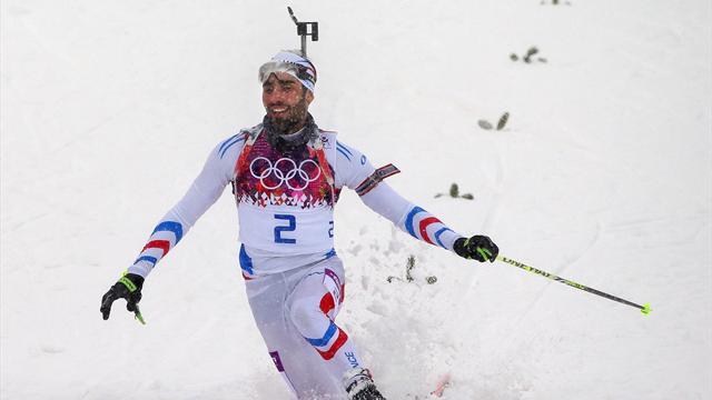 I due ori di Martin Fourcade nel biathlon a Sochi 2014