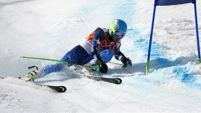 Büyük slalomda şampiyon Ted Ligety