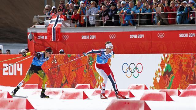 Норвегия выиграла командную гонку