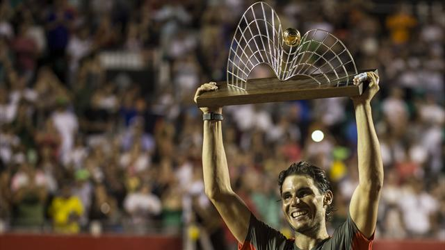 Même un peu raide, Nadal reste Nadal