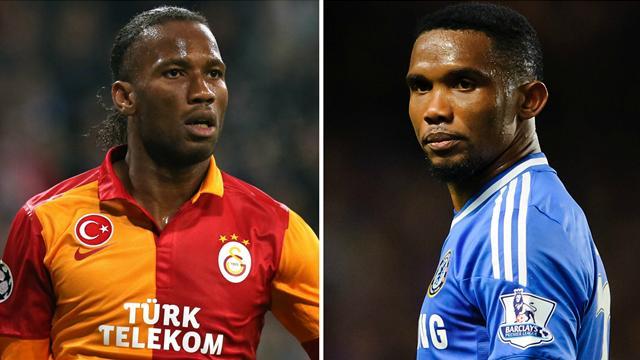 Drogba-Eto'o, les rois d'Afrique se donnent rendez-vous à Istanbul