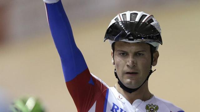 Сборная России взяла пять медалей на ЧМ по велотреку