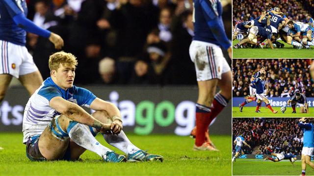Un match, cinq images: Doussain réduit Murrayfield au silence