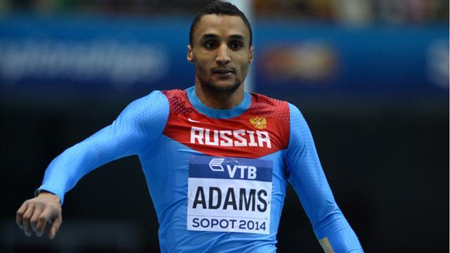 Адамс принес России золото в тройном прыжке