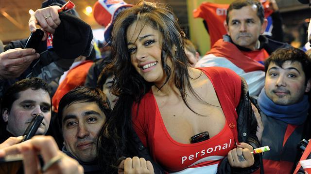 Ларисса Рикельме : Фото 10013, фотографии футбол - Maxim