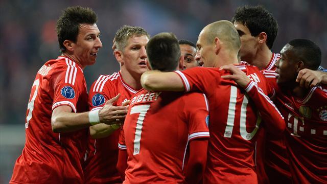 Le Bayern n'a même pas eu à forcer
