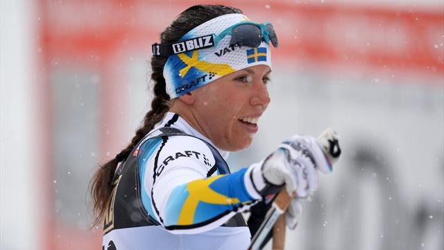Charlotte Kalla delivers Sweden's first gold of worlds