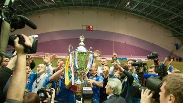 БАТЭ выиграл Суперкубок Белоруссии