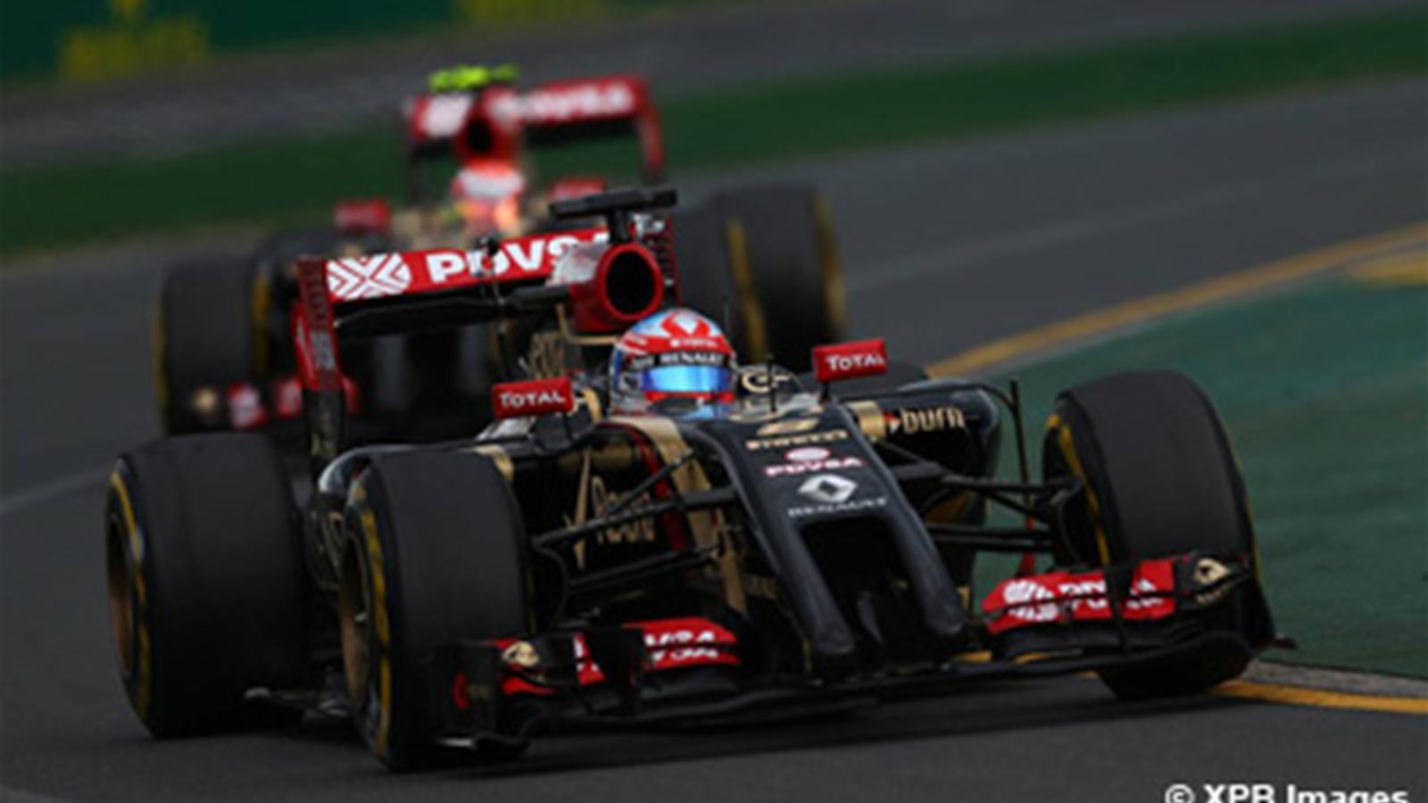 Grosjean sortir la t te de l eau grand prix d 39 australie 2014 formule 1 eurosport - Formule vitesse de coupe ...