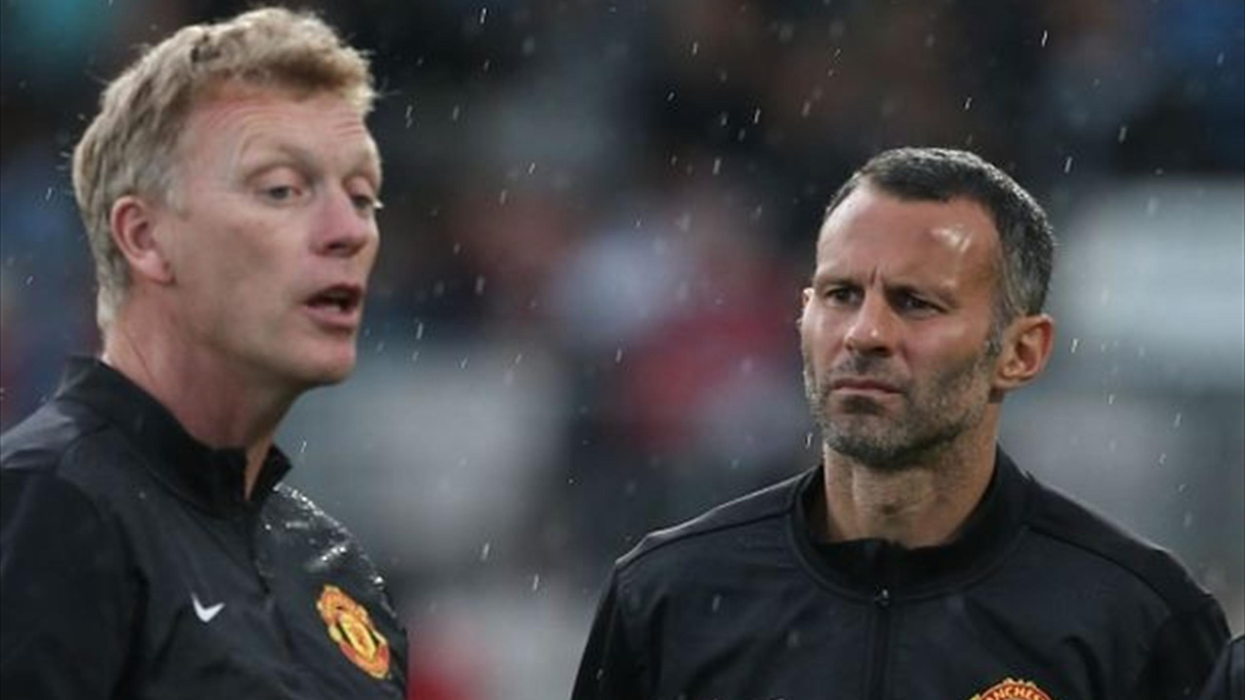 Ryan Giggs entraîneur de Manchester United par intérim ...Ryan Giggs 2013 2014