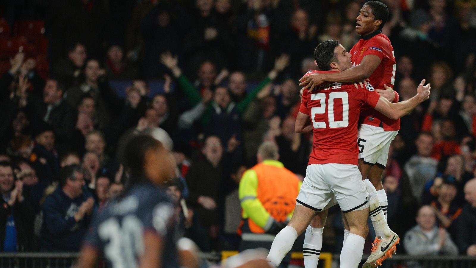 Manchester United renverse Olympiakos (3-0) et accède aux quarts de finale