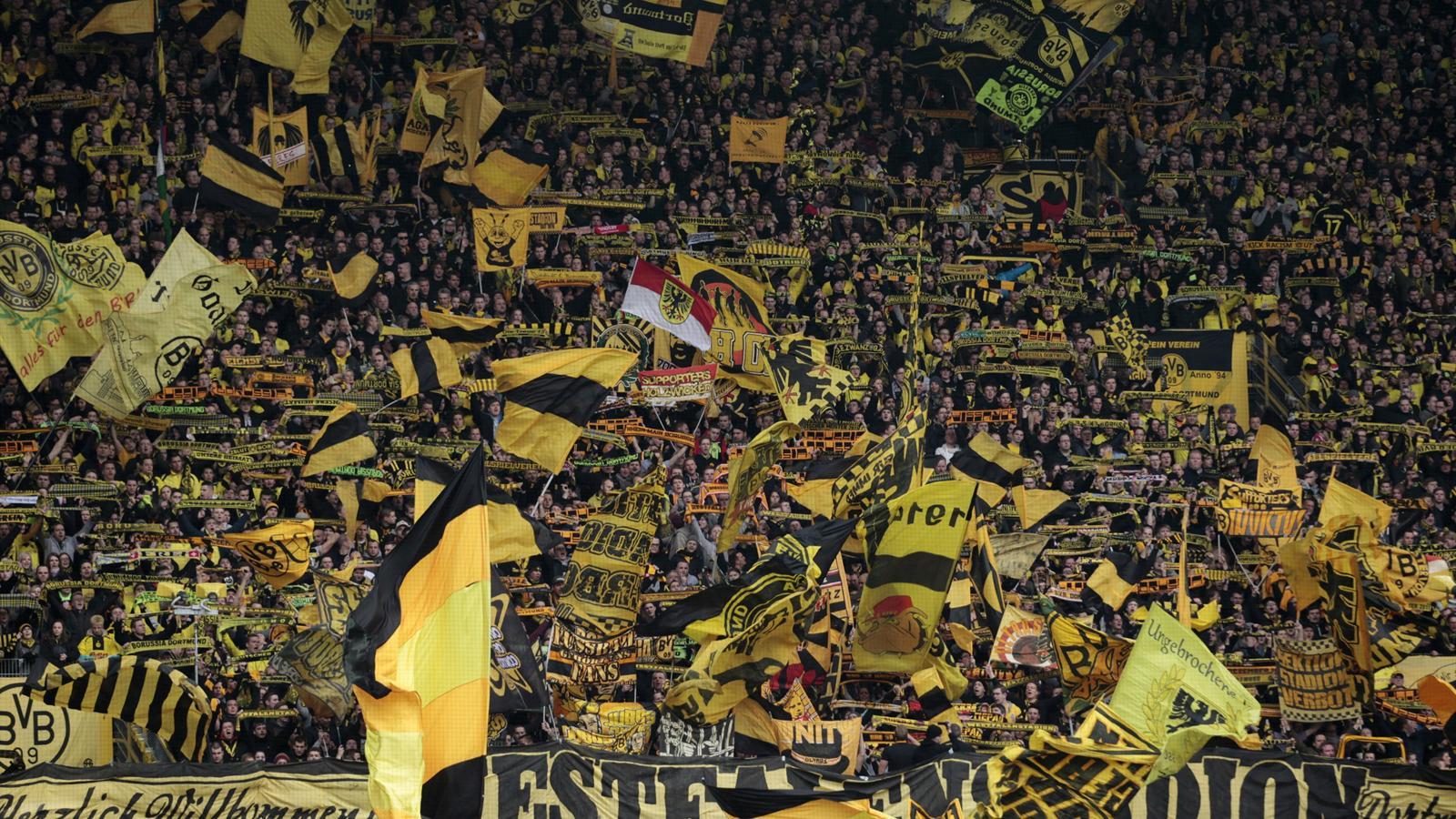 Dortmund Fans 'moaning' Fans Dampen Dortmund