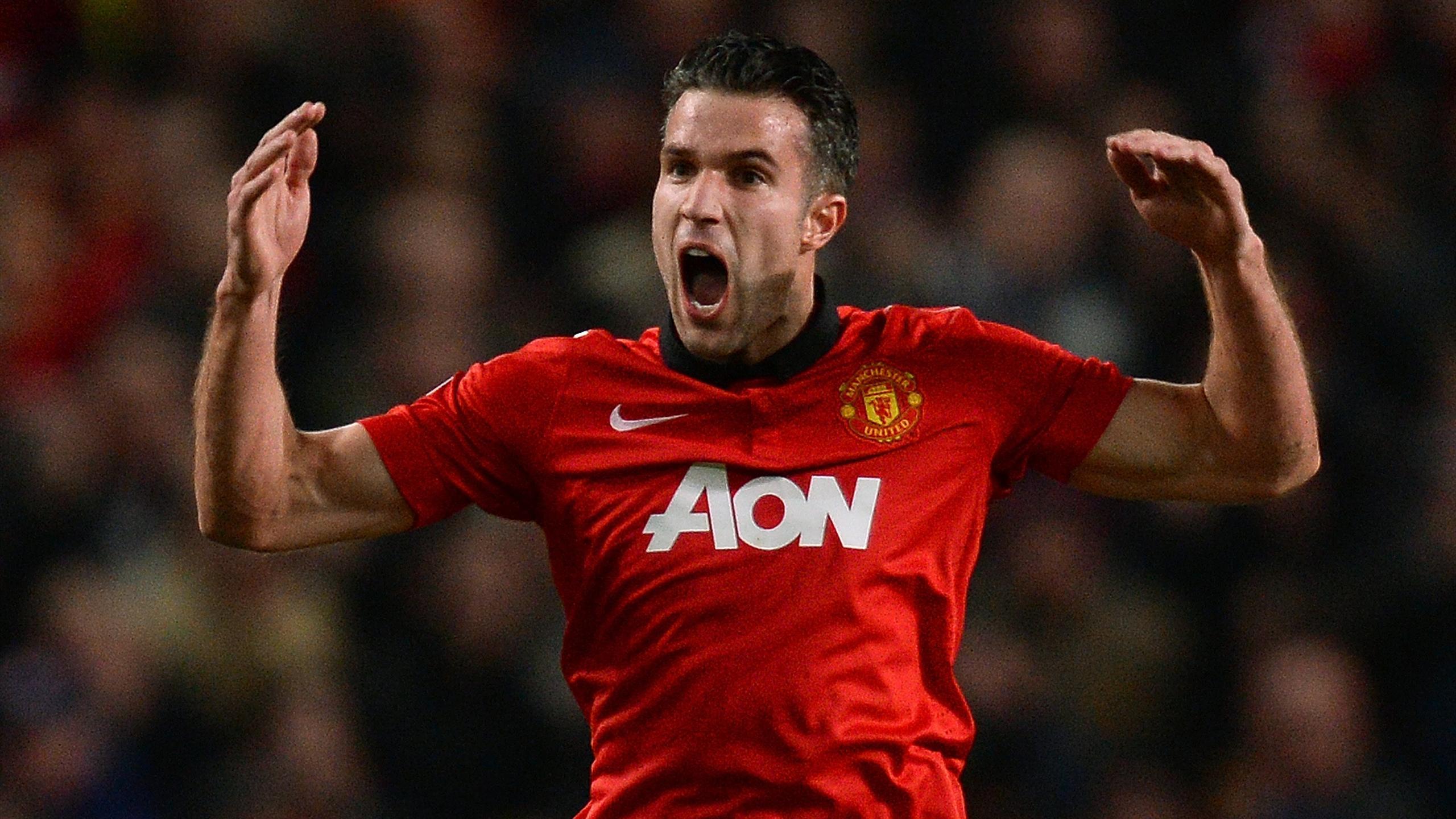 2013-14 Manchester United, Robin van Persie (AFP)