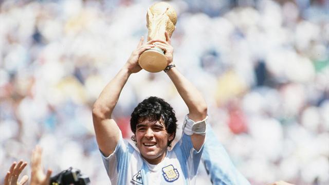 Pourquoi Maradona figure au palmarès du Ballon d'Or malgré tout