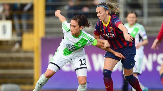 Wolfsburgo-Barcelona: Principio del fin del sueño azulgrana (3-0)