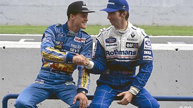 Schumacher : le message de Hill