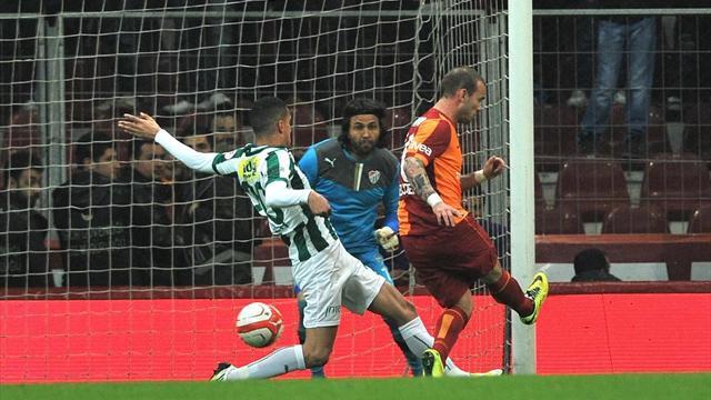 Galatasaray-Bursaspor: 2-2 / MAÇ ÖZETİ