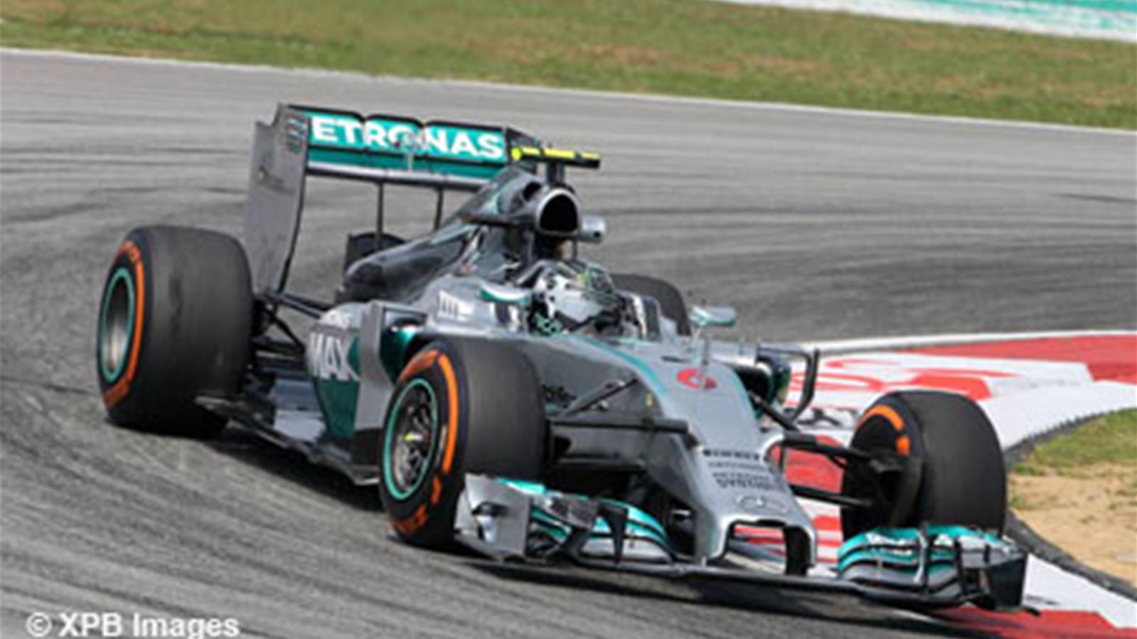 Mercedes plut t deux fois qu 39 une grand prix de malaisie 2014 formule 1 eurosport - Formule vitesse de coupe ...