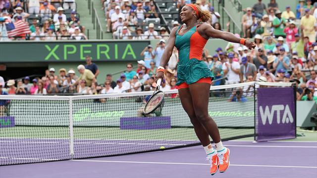 Serena Williams en Floride comme chez elle