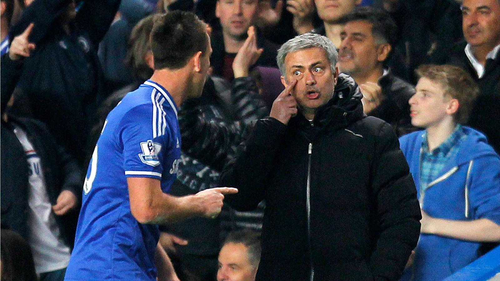 José Mourinho and John Terry (Chelsea), 2013-2014