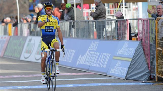 Contador recupera su máxima efectividad en montaña