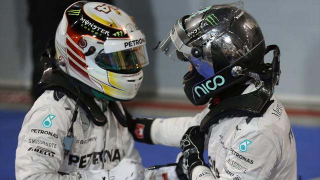 Hamilton et Rosberg ont fait le show !